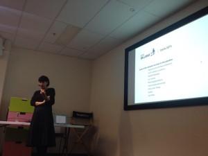 Rosie present the City of Ballarat data